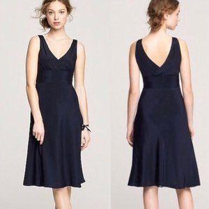 Jcrew Floaty Silk Chiffon Sophia Dress 2 XS